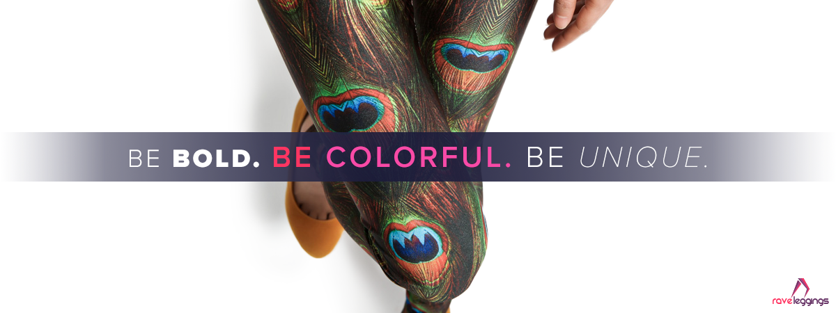 Colorful fashion leggings in several colors & prints